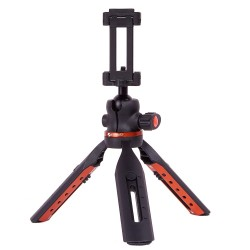 Mini tripod 5 stops Pan 360 Tilt -90 degrees