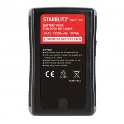 SB-VL190 Batterie Monture V avec sortie USB et D-TAP 190Wh