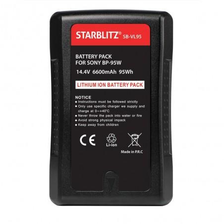 Batterie Monture V avec sortie USB et D-TAP 95 Wh