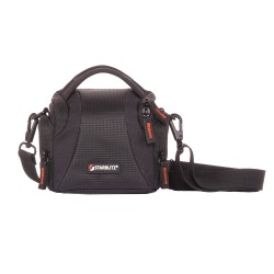 Shoulder bag with hydrophobic fabric for mirrorless devices WIZZ11