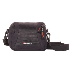 Shoulder bag with hydrophobic fabric for compact cameras WIZZ9