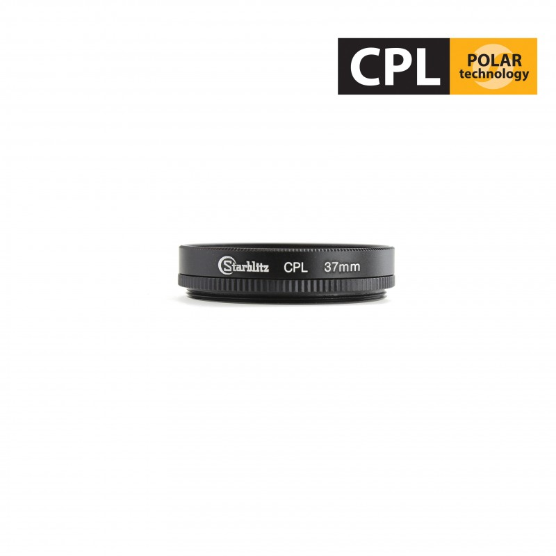 Filtro polarizador circular para lentes a partir de 37mm de diámetro